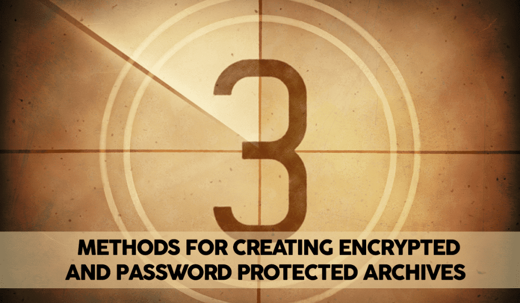 How to Create an Encrypted (Password Protected) Tar or Zip