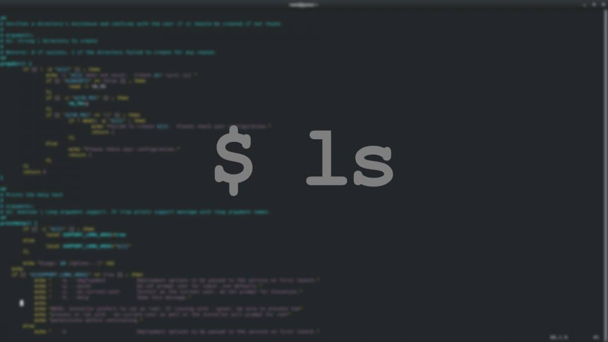 ls Command – List Directory Contents on Linux Command Line