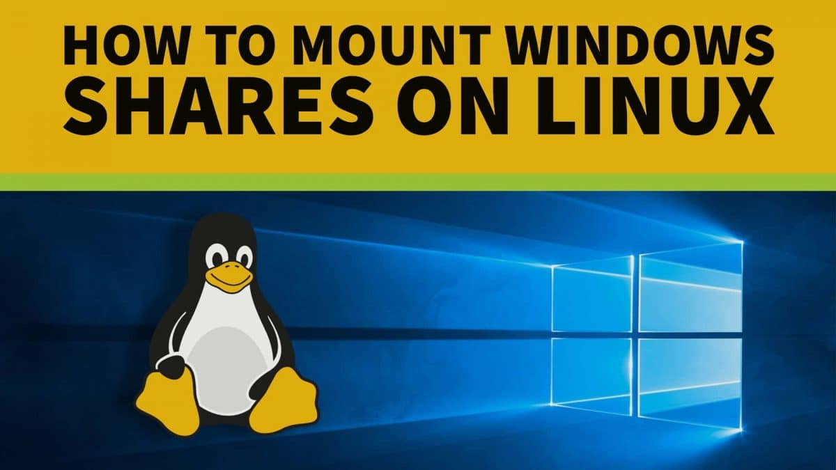 How to Mount a Windows Share in Linux