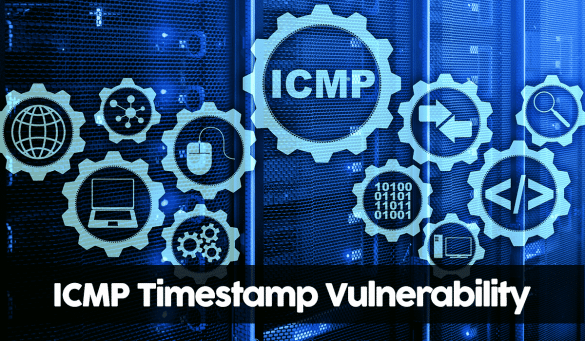 Conceptual image showing ICMP Timestamp Vulnerability in Linux