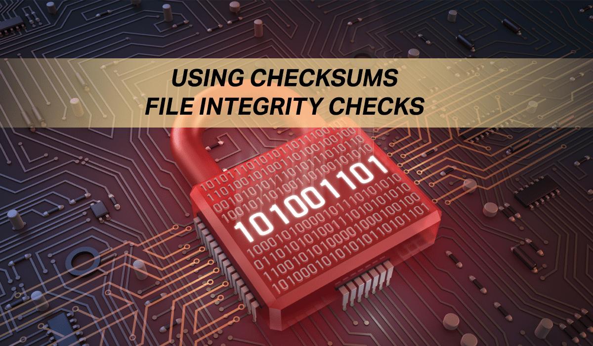 Checksum - File Integrity Check on Linux Command Line - Putorius