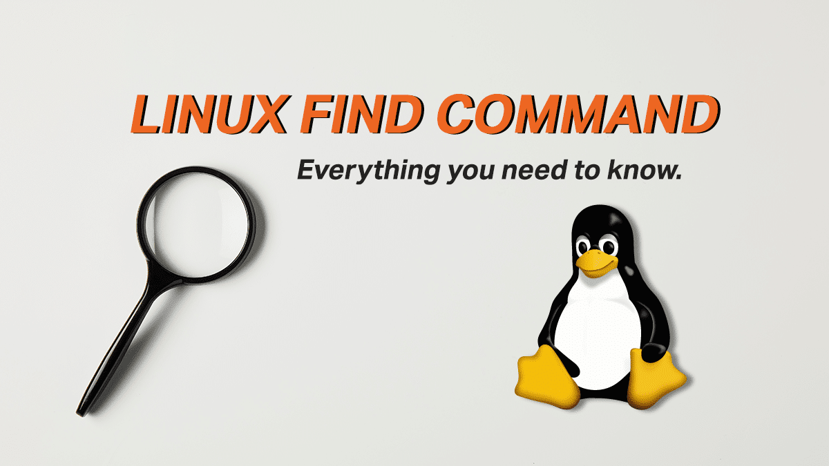 Find Command – Search for files on the Linux Command Line
