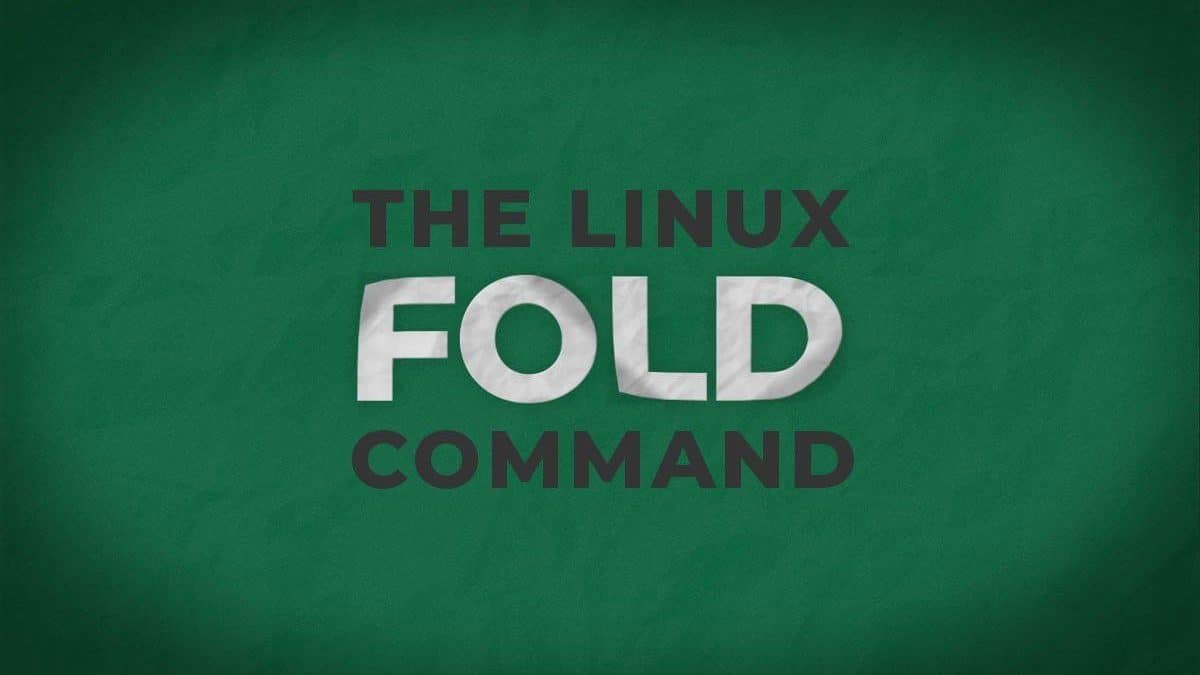 Fold Command – Wrap Lines of a File to Specific Length