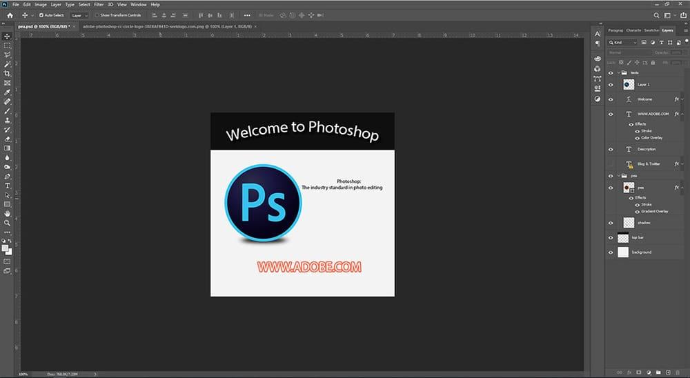 Photoshop interface screenshot