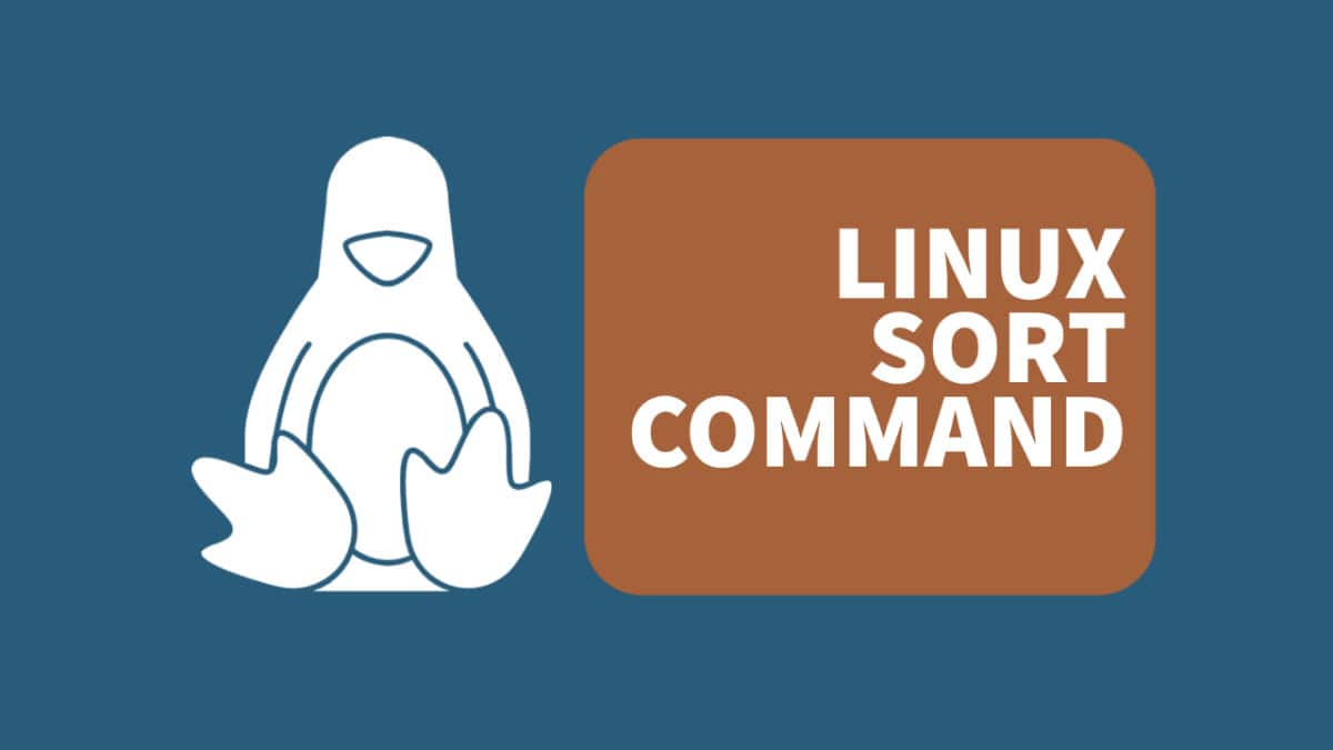Sort Command – Sort Text / Output on the Linux Command Line
