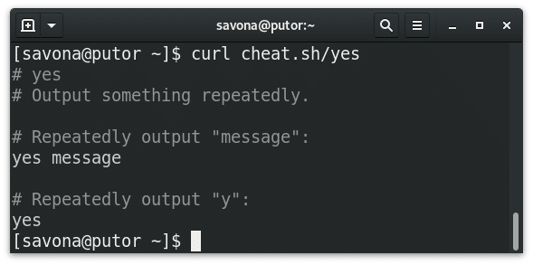 Using the command line cheat sheet