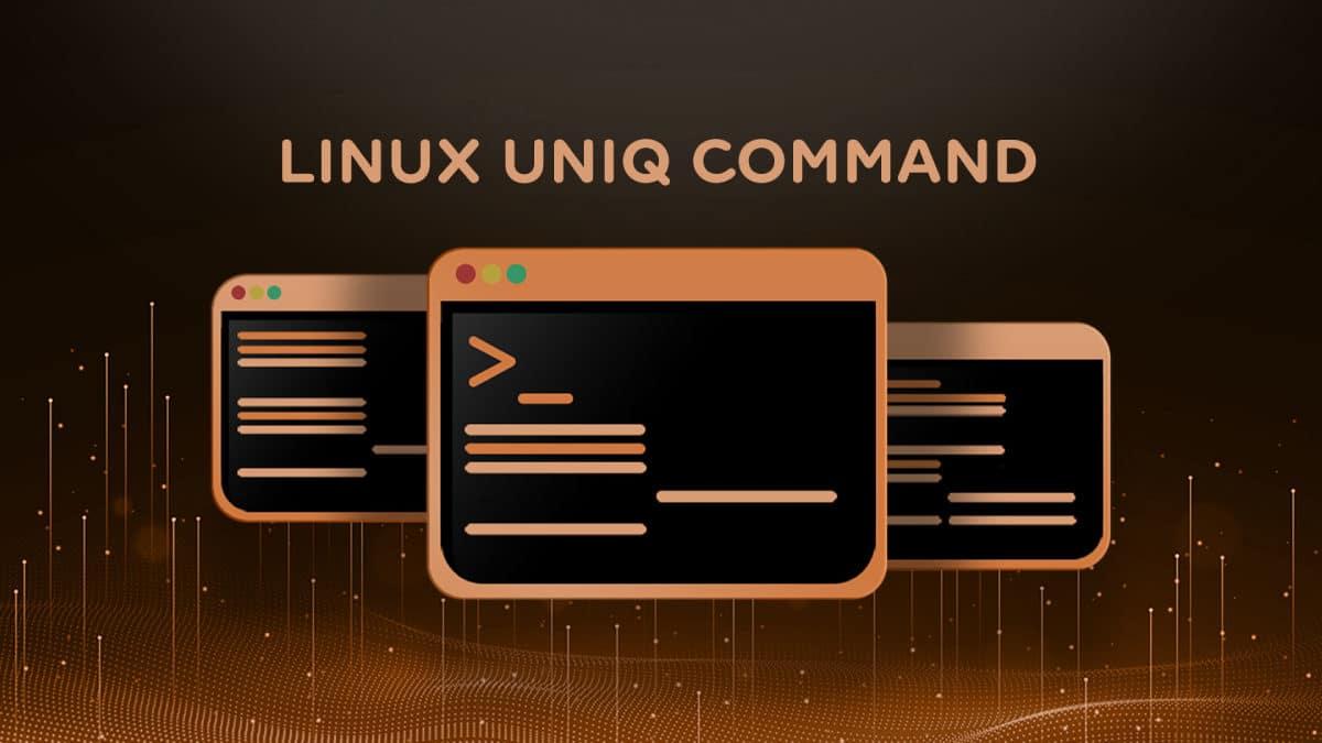 Uniq – Print or Remove Duplicate Lines on Linux Command Line