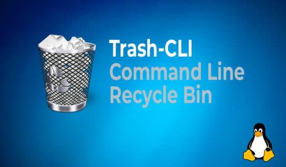 Trash-CLI Command Line Recycle Bin