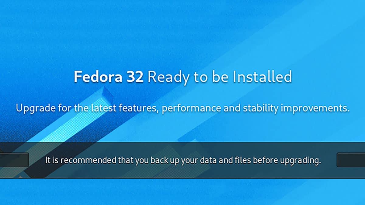 How to Upgrade Fedora 31 to Fedora 32